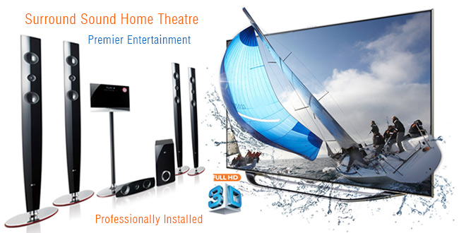 Repairs to & Installations of Surround Sound Home Theatres